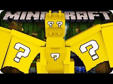 Minecraft - LUCKY BLOCK BOSS CHALLENGE  - DRAGONS! (Lucky Block / Orespawn Mod)