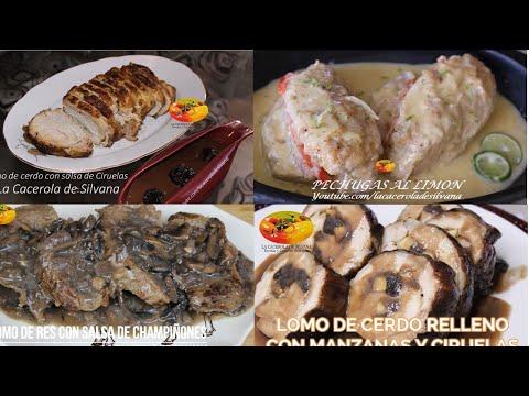 Lomo De Cerdo Relleno - 4 Recetas De Carnes Para Navidad Económicas Y Deliciosas