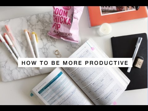 How To Be Productive After School