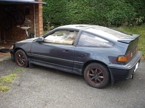 1990 Honda CRX Si Restoration Project