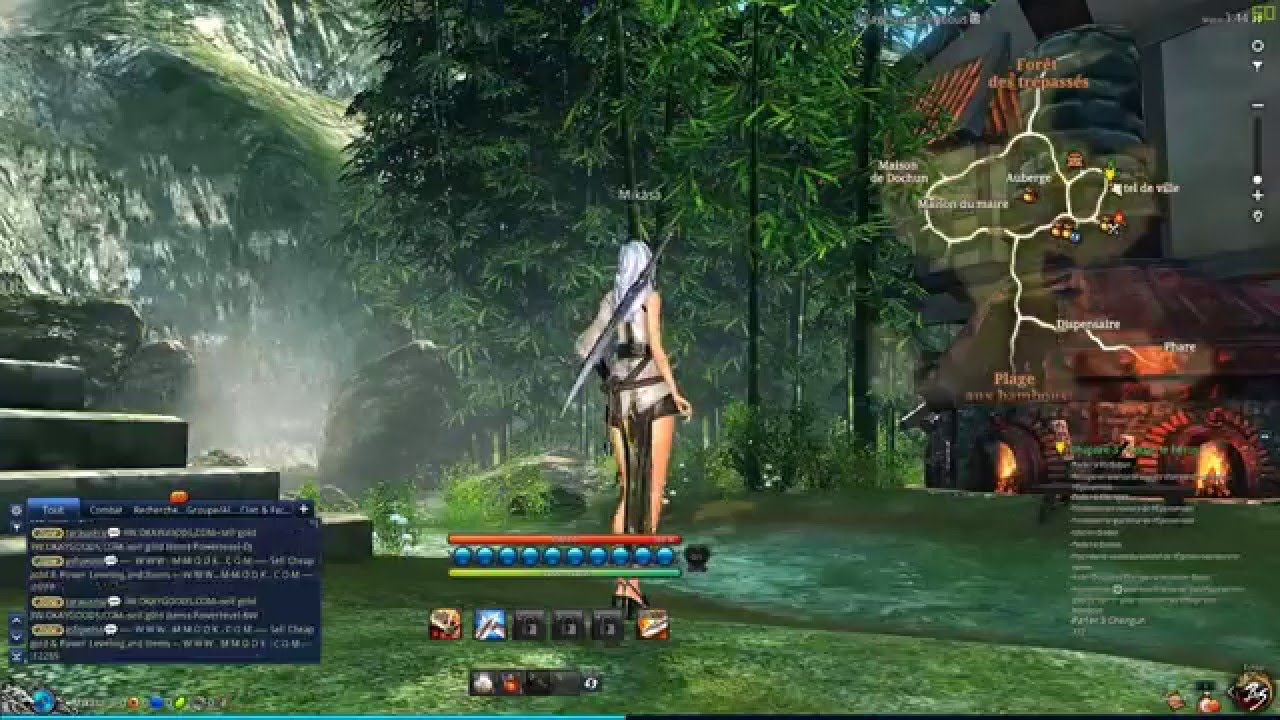 Blade & Soul Textures flickering (All Games)