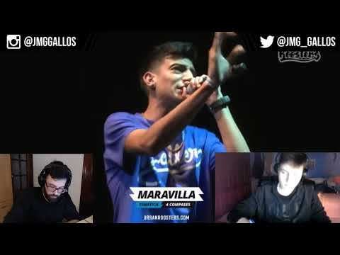 Dani vs Stuart FMS Argentina | Reaccion y analisis
