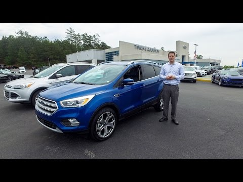 2017 Ford Escape Titanium - What's New?