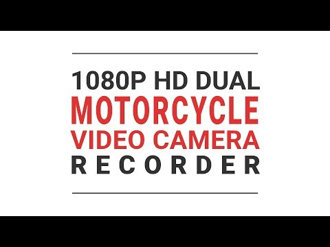 Vacron 1080P HD Motorcycle Camera Video Recorder