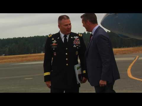 Under Secretary of the Army visits Joint Base Lewis-McChord.