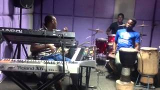 "THE BIGDEAL BAND GH OKYEAME KWAME rehearsal on ""FAITHFUL"" f"
