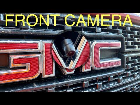 GMC Sierra front camera install DIY
