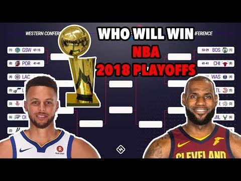 Who Will Win NBA 2018 Playoffs? | NBA2K18 Edition