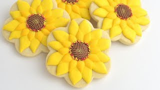 SUNFLOWER COOKIES by HANIELA
