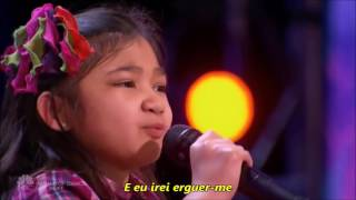 Angelica Hale Cantando Rise Up by Andra Day