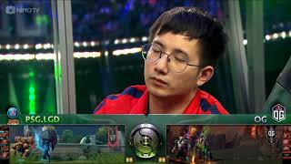 TI8 - Chung kết tổng - PSG.LGD vs OG game 5 - 307 ft Dukie