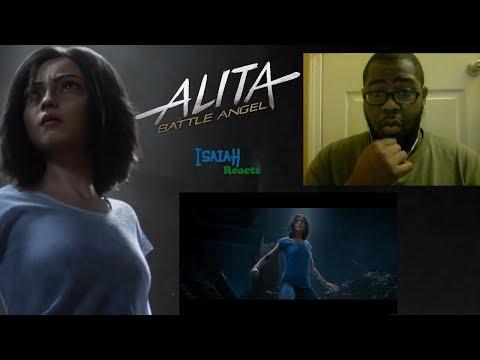 ALITA: BATTLE ANGEL | Official Trailer #2 | Trailer Reaction