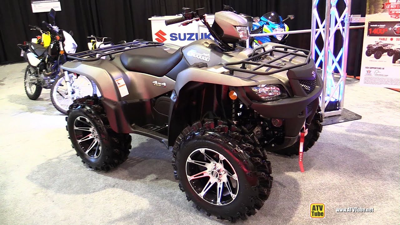 2015 suzuki king quad 750 walkaround 2014 st hyacinthe. Black Bedroom Furniture Sets. Home Design Ideas