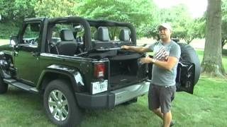 2014 Jeep Wrangler- Operating the soft top