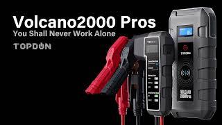 What's TOPDON Jump Starter V2000 Pros?