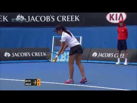 Best point  - Simona Halep (Rou) [11] vs. Zarina Diyas (Kaz) [Q]
