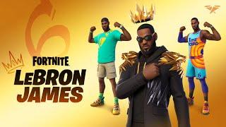 LeBron James se une a la Serie de ídolos de Fortnite