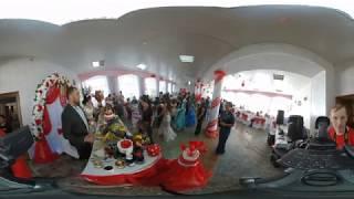 2017 свадьба видео 360