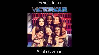 Victoria Justice - Here's 2 Us [English - Español Lyrics]