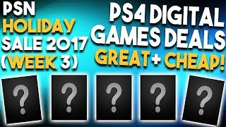 10 GREAT PS4 Digital Games Deals Right Now! (Playstation 4 HOLIDAY SALE Deals Week 3)