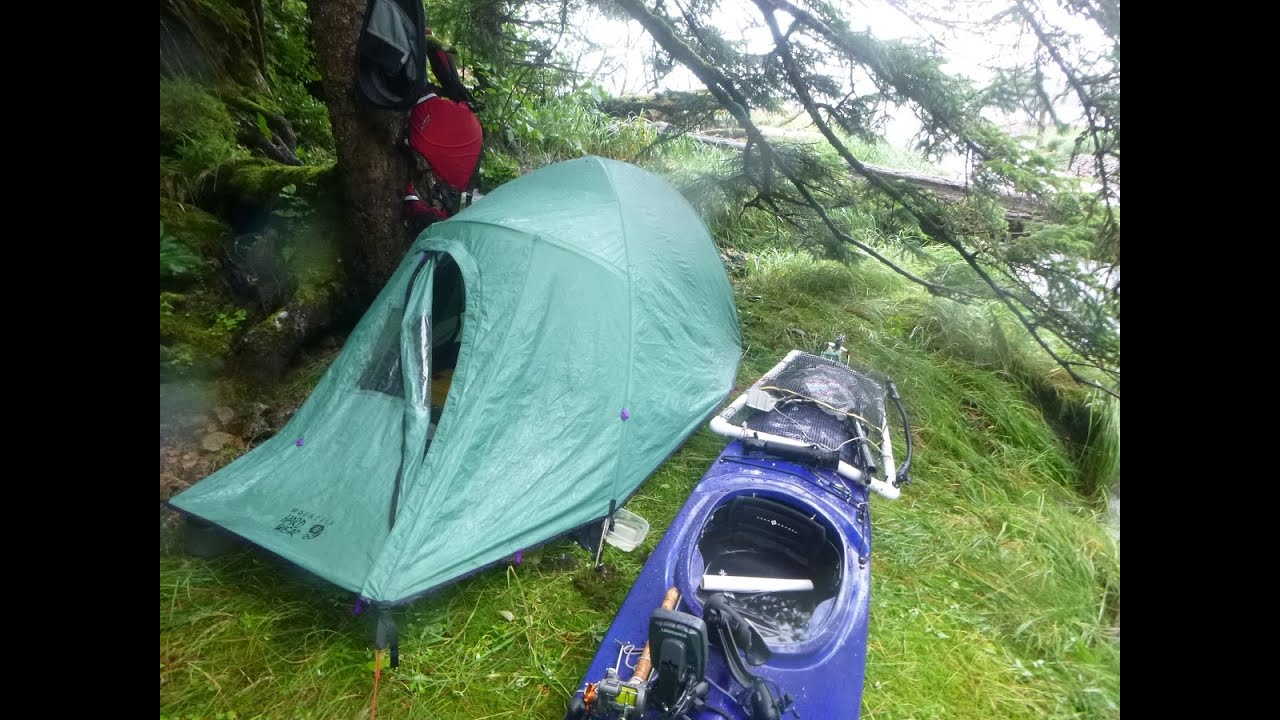 3 week solo kayak camping and fishing in alaska from for Kates fish camp