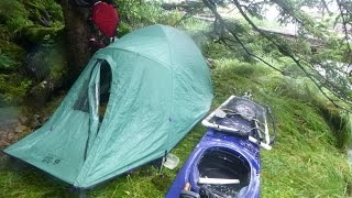 3-week Solo Kayak Camping and Fishing in Alaska from Ketchikan to Dixon Entrance (part 1)