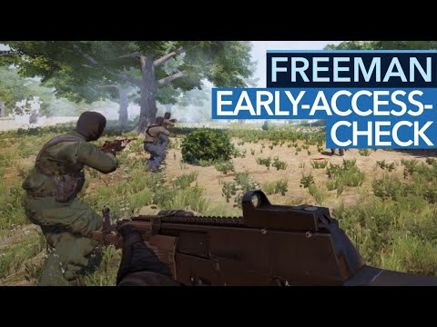 Freeman: Guerilla Warfare - Gameplay-Preview: Mount & Blade trifft Arma 3