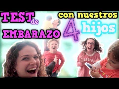 TEST de EMBARAZO con nuestros #4 HIJOS | Salimos de dudas | Familia Tutti Vlog