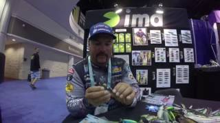 ICAST 2016 Fred Roumbanis with Fish Allure!