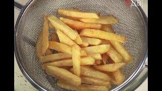 Как правильно пожарить картофель фри / рецепт от шеф-повара / Илья Лазерсон / Мировой повар
