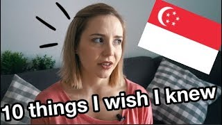 10 Things I wish I knew before moving to Singapore // Expat living
