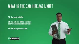 Rental Essentials Episode 8 - The Age Limit | Enterprise Rent-A-Car