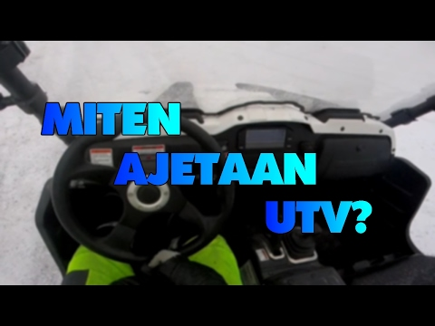 Miten Ajetaan UTV:tä? Ja linttaa!