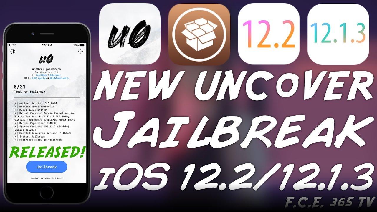 Unc0ver JAILBREAK For iOS 12 1 3 / 12 1 4 / 12 2 RELEASED! (With Cydia /  Tweaks)