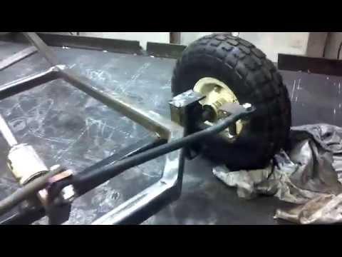 "Custom Go-Kart Project ""Steering"""