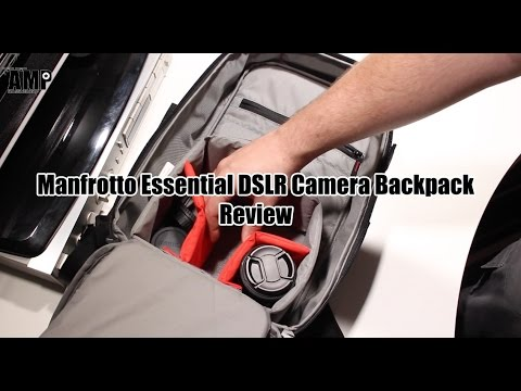 Manfrotto Essential DSLR Camera Backpack Review - YouTube 24a451f8637f5