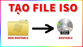 Tạo file iso boot Win 2019