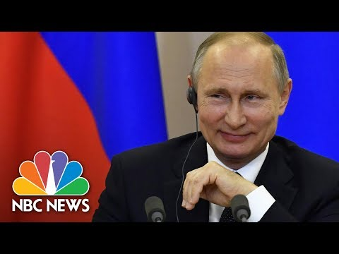 Vladimir Putin's On Allegations President Trump Shared Secrets: 'Political Schizophrenia' | NBC News