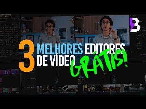 OS 3 MELHORES EDITORES DE VÍDEO GRÁTIS!
