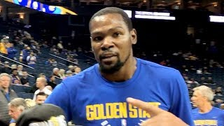 KEVIN DURANT TOLD ME TO STOP RECORDING HIM