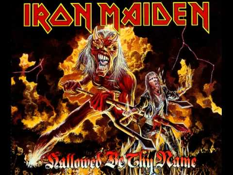 Iron Maiden Hallowed Be Thy Name Lyrics
