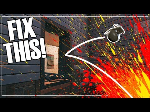 Grenades Don't Work Anymore - Rainbow Six Siege