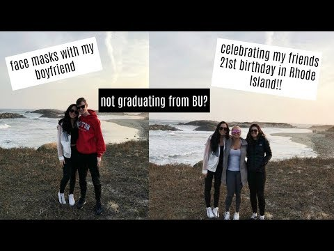 VLOG: Rhode Island weekend with my friends and Darragh & not graduating from college?!