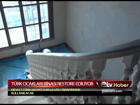 TÜRK OCAKLARI BİNASI RESTORE EDİLİYOR