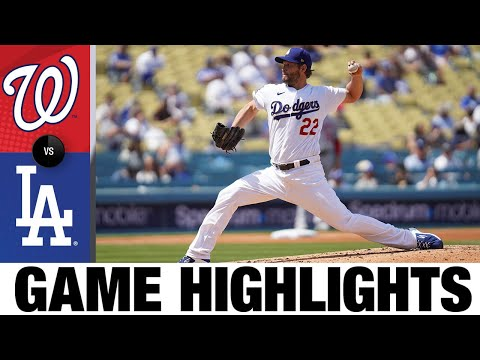 Nationals vs. Dodgers Game Highlights (4/11/21) | MLB Highlights