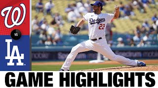 Nationals vs. Dodgers Game Highlights (4/11/21) | MLB Highlights