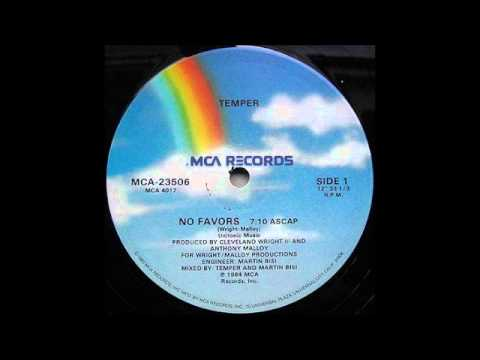 No Favors - Temper 1984