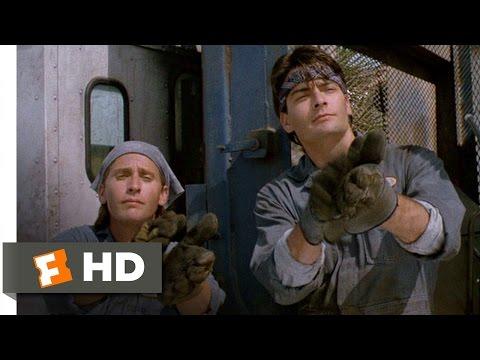 Men at Work (1/12) Movie CLIP - Golf Clap (1990) HD