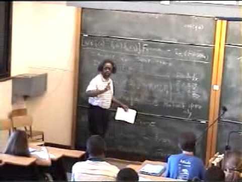 Supersymmetry, Jim Gates | Lecture 1 of 3 (Muslim defending child rape in description/comments)