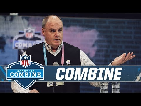 GM Kevin Colbert on Antonio Brown, Le'Veon Bell from NFL Combine | Pittsburgh Steelers